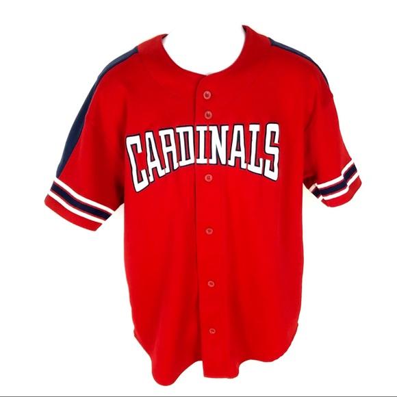 half off 42e8d 32063 Starter Mark McGwire Cardinals Jersey Red MLB XL